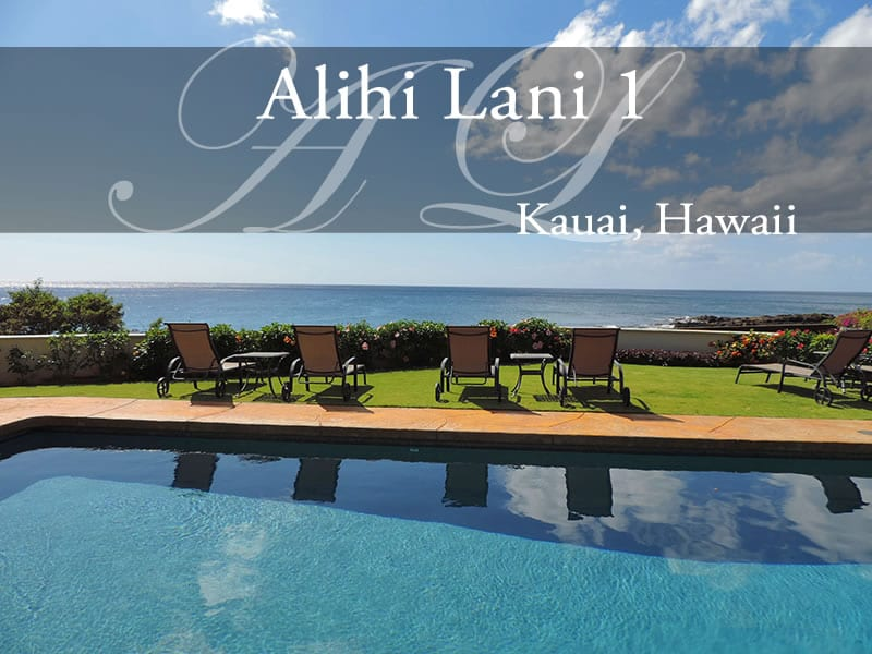 Alihi Lani 1, Steps to the Pool