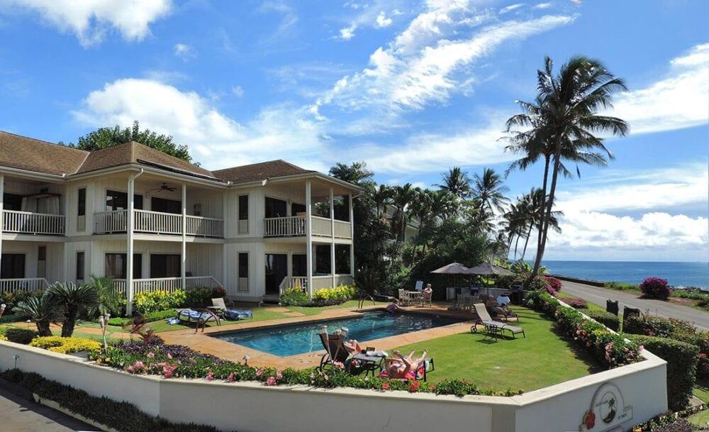 Alihi Lani ocean front luxury vacation rental with pool in Poipu Beach, Kauai