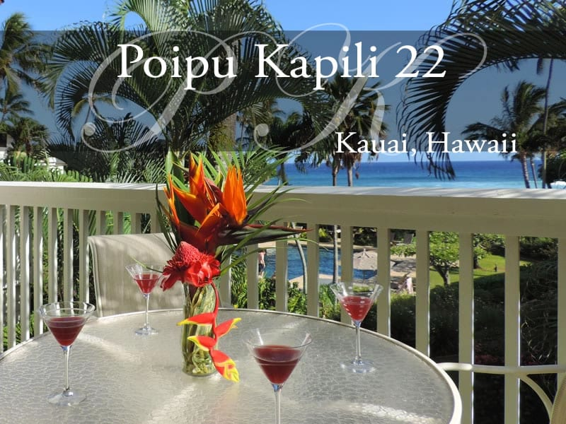 Poipu Kapili 22, 2nd Floor, Ocean Views