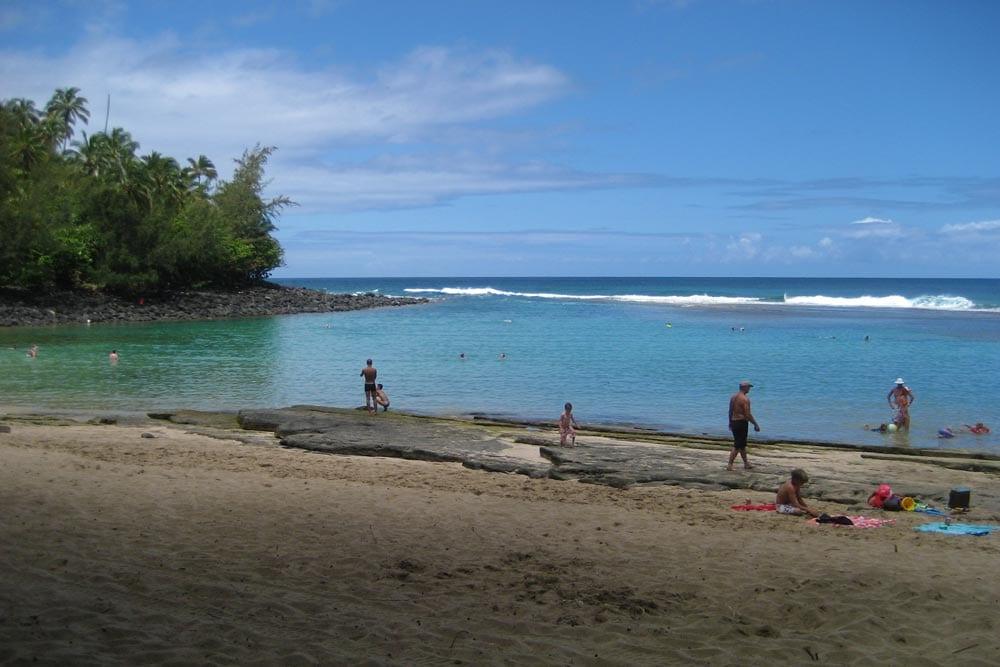 Kauai North Shore snorkeling beach by Robin Gotfrid