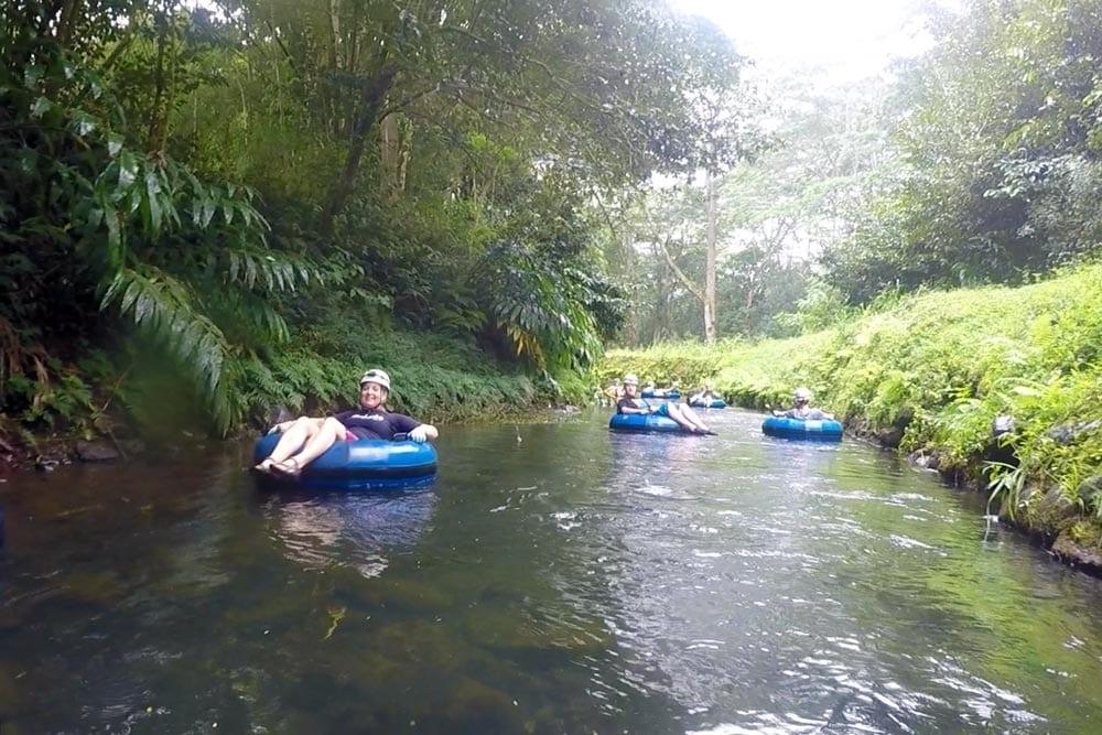Kauai mountain tubing adventure by Eric Gotfrid