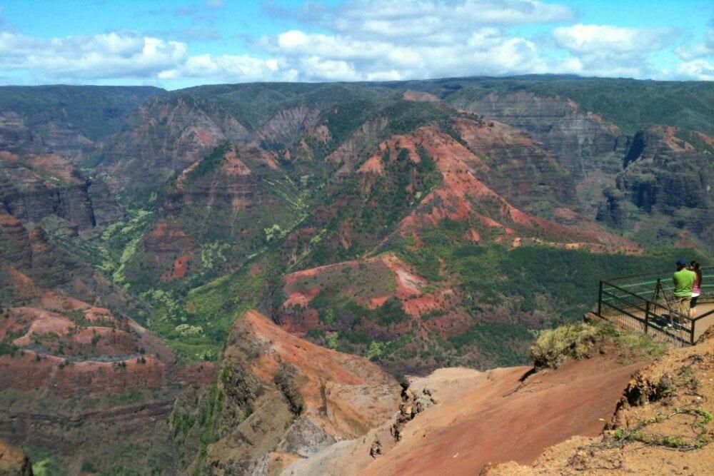 Waimea Canyon viewpoint by Robin Gotfrid