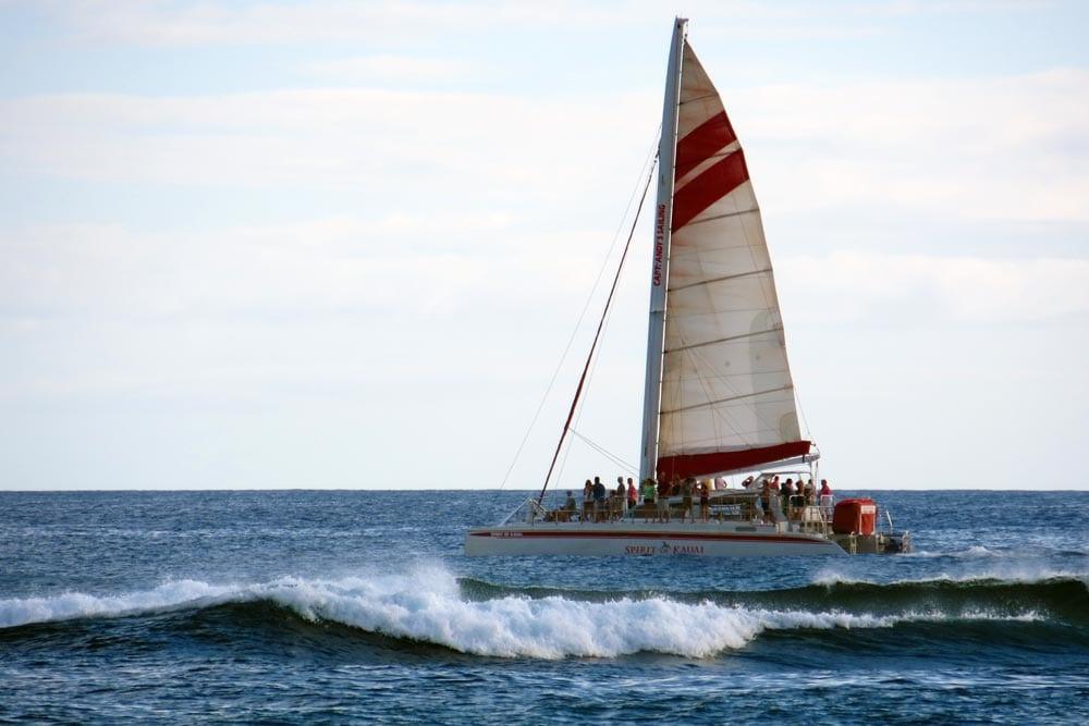 evening cruise on Spirit of Kauai